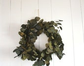 hand tied eucalyptus wreath
