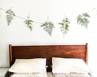 forest fern botanical banner  |  preserved ferns
