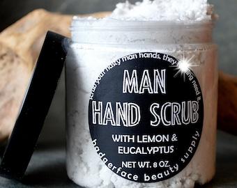 Hand Scrub for Men. Scrub for Men. 8 oz / .27 L. Mechanic Gift. Pumice Scrub. Husband Gift. Father's Day.