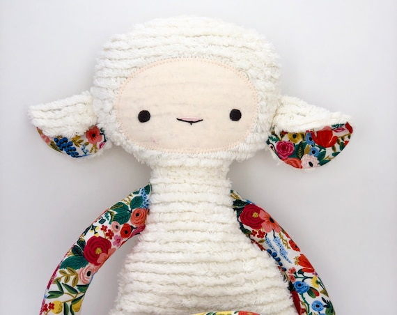 Custom Garden Party Lovey Lamb