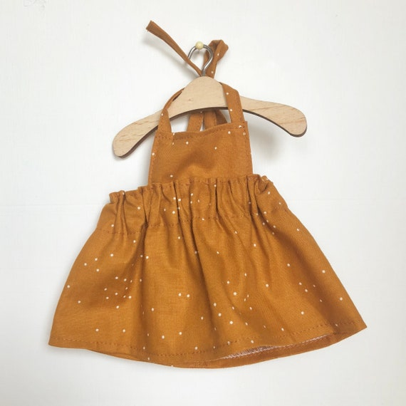 Rust Dots Dress