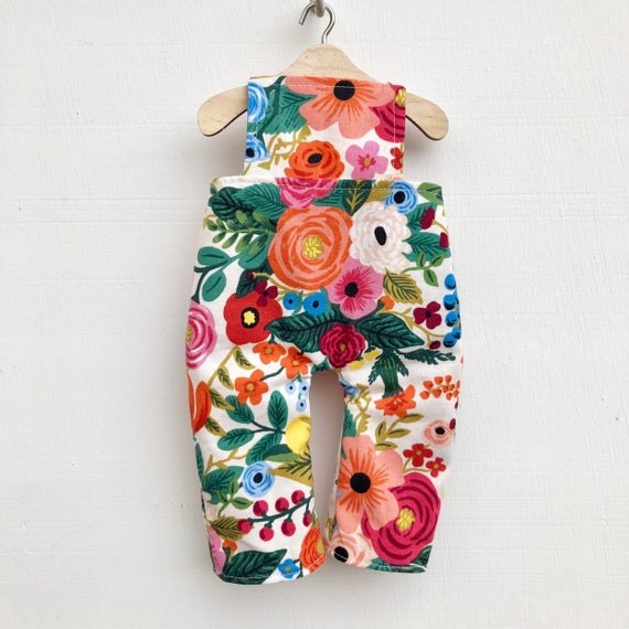 Garden Party Doll Overalls