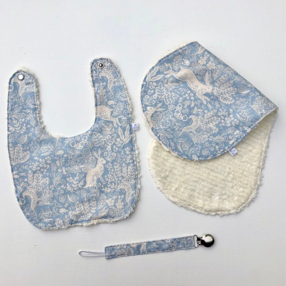 Fable in Blue Bib Gift Set