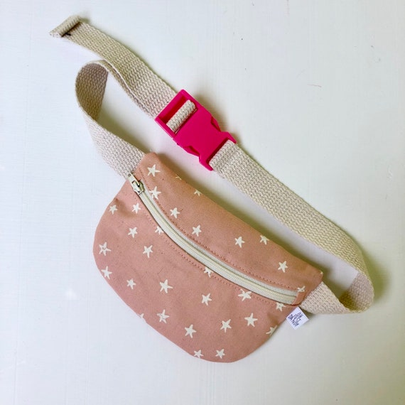Treasure Pouch in pink stars