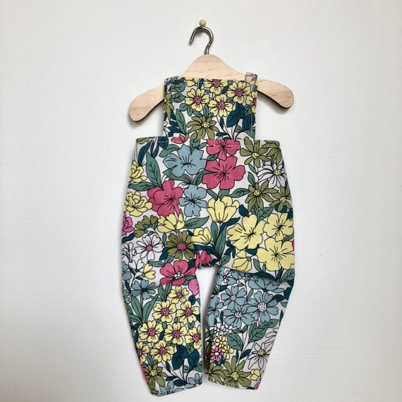 Bright Floral Overalls