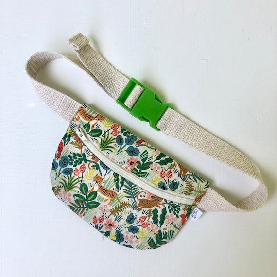 Treasure Pouch in Jungle Cream