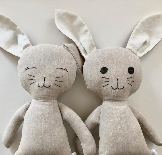 Flax Linen Bunny
