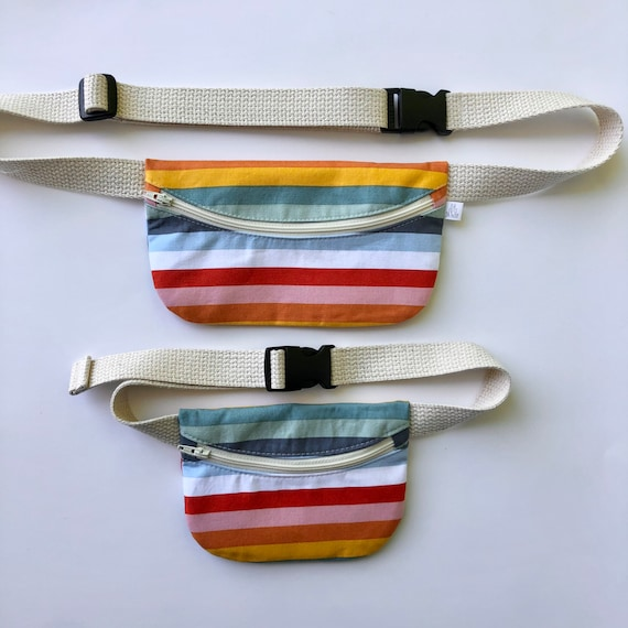 Mommy n Me Treasure Pouch in Rainbow