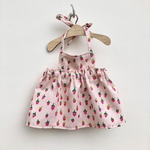 Pink Strawberry Doll Dress