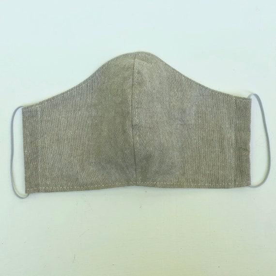 Flax Linen Face Mask