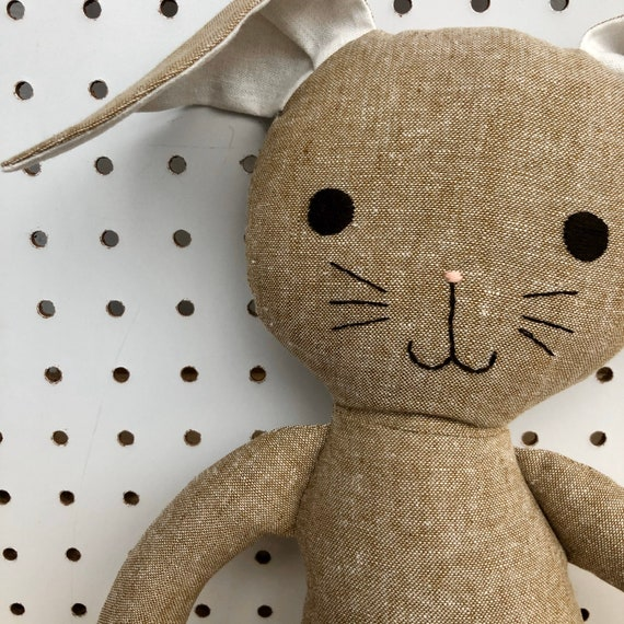 Taupe Linen Bunny
