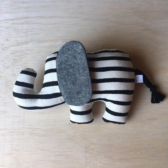 Crinkle Ear Elephant Rattle