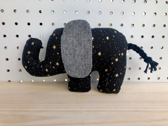 Crinkle Ear Elephant Rattle