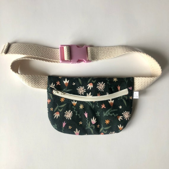 Treasure Pouch in Green Floral