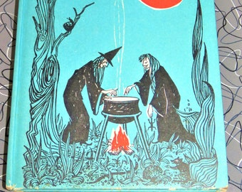 Vintage Witches' Potions and Spells/Halloween 1971