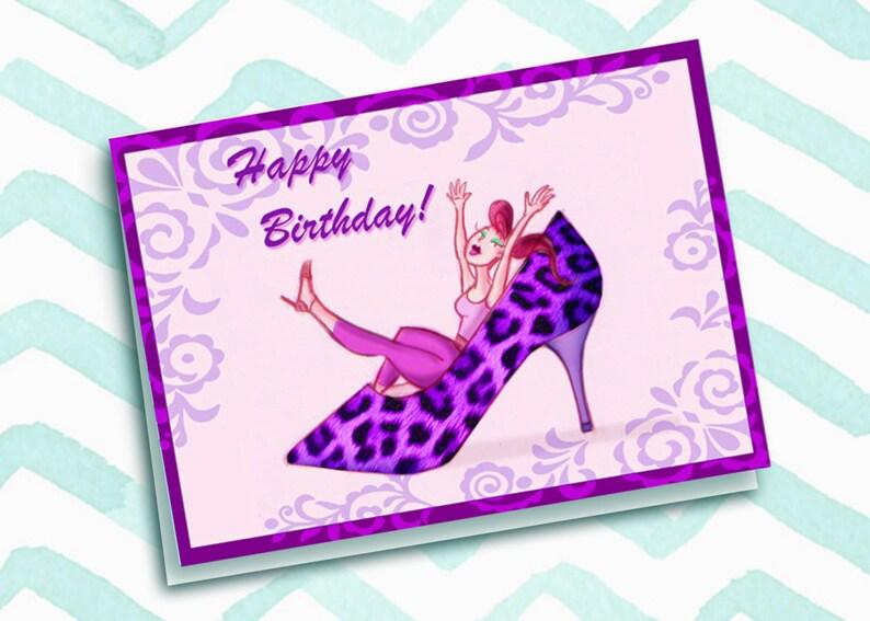 Happy Birthday Cheetah Girl image 0