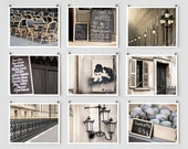 Fine Art Photography, Paris Gallery Wall Art Prints, Black Paris Photography Collection, Extra Large Wall Art, Apartment Art, Gift for Her
