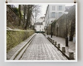 "Paris Photography, ""Rue des Saules"" Paris Print, Large Art Print Fine Art Photography"