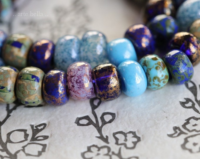 MAJESTIC SEEDS No. 7648 .. New Premium Picasso Czech Glass Striped Seed Bead Mix Size 31/0 (7648-st)