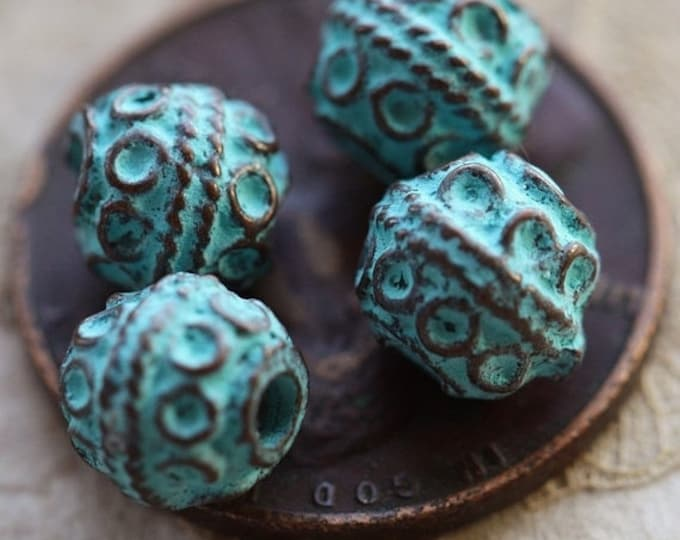 DECO No. 31 .. 10 Mykonos Greek Decorative Bead 6mm (M31-10)