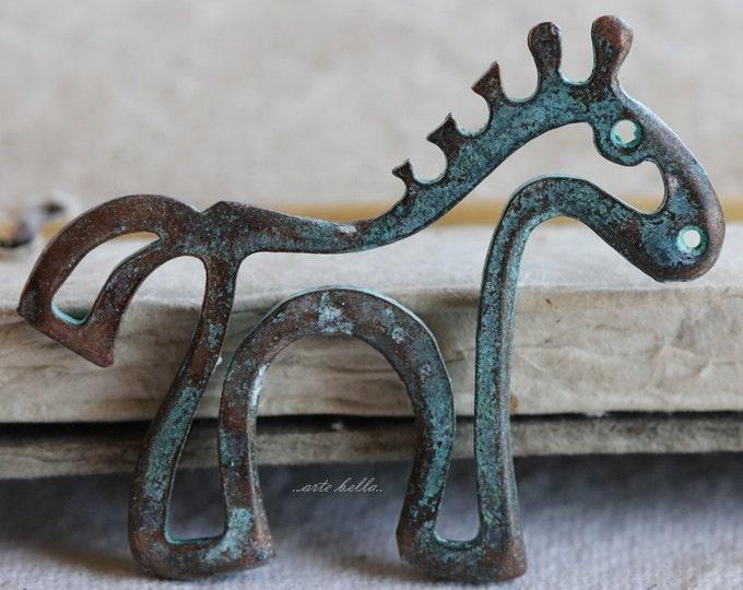 LIL' PONY No. 125 .. 1 Mykonos Greek Horse Pendant (M125-1)