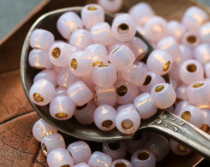 BALLET SLIPPER SEEDS .. 100 Japanese Toho PermaFinish Glass Seed Bead Size 6/0 (8300-100)