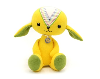 Solar plexus chakra / manipura / third chakra, spiritual doll, yoga gift, meditation toy