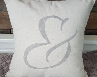"16"" light gray ""&"" pillow cover"