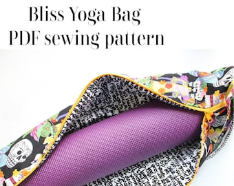 Bliss Yoga Bag PDF SEWING pattern with video