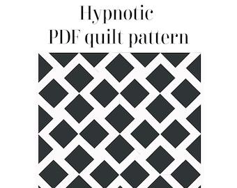 Hypnotic Quilt PDF pattern