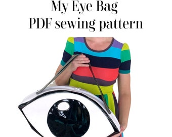 My Eye Bag PDF sewing pattern by sewhungryhippie