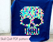 Sugar Skull Quilt PDF pattern download