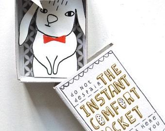 The Instant Comfort Pocket Box  - Bunny rabbit