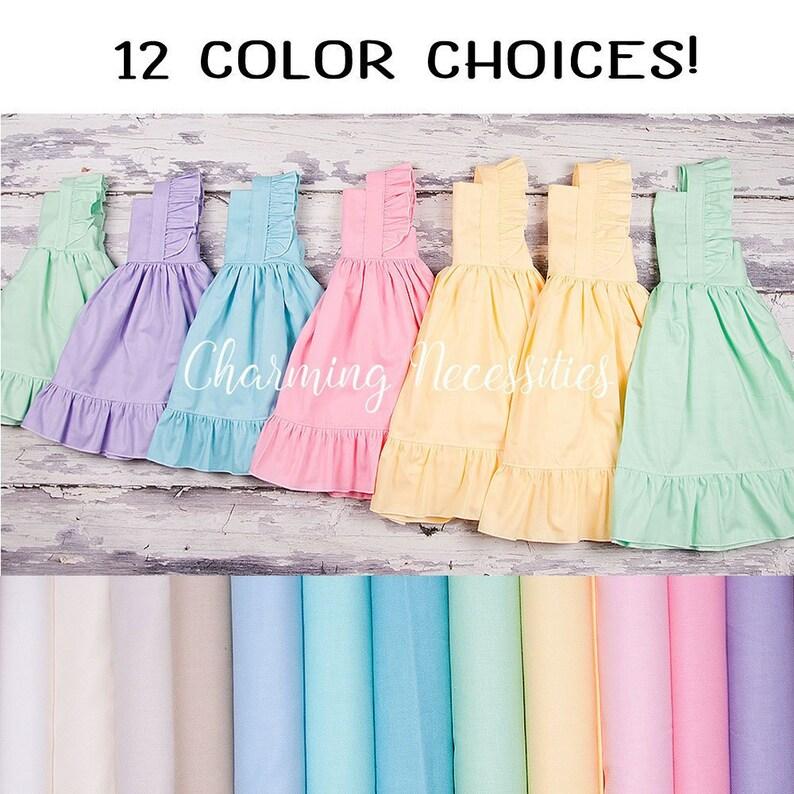 ff9d991a51b Baby Girl Summer Dress Boho White Neutral Dress Beach Dress