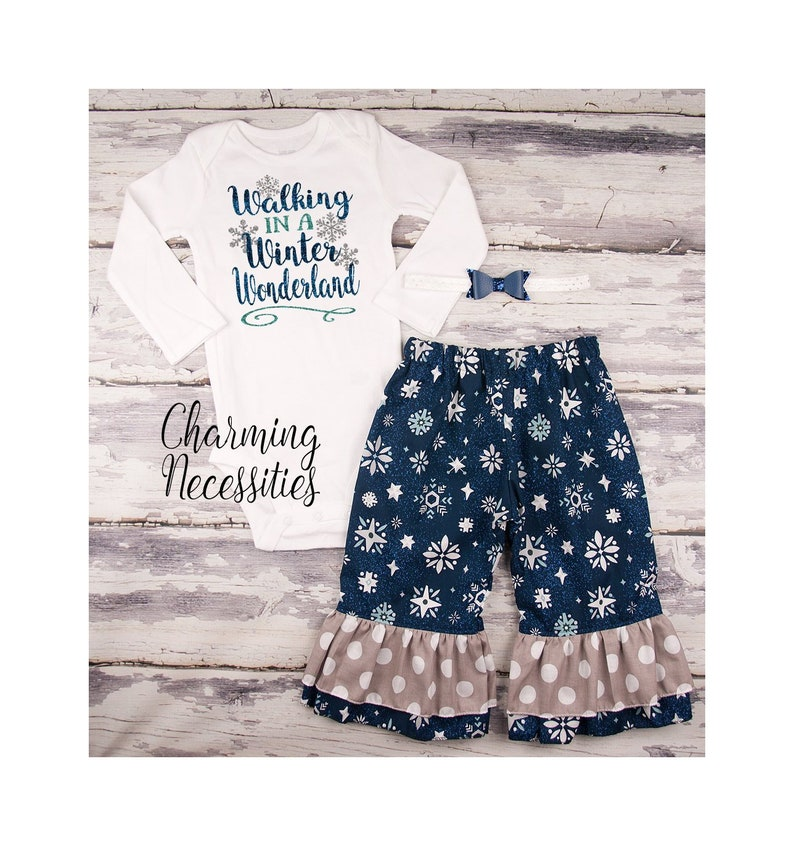 5cbdcb38da9d Toddler Girl Clothes Christmas Outfit Girls Snowflake Winter