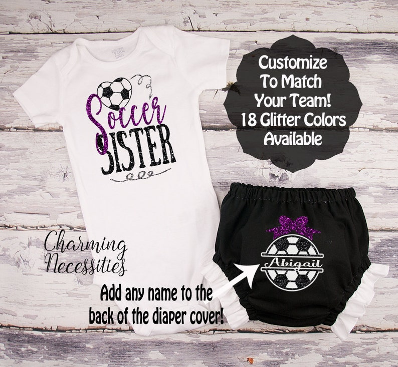 Soccer Sister Outfit Newborn Soccer Outfit Soccer Baby  33e9afafa