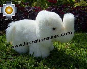 100% Baby Alpaca, Adorable Stuffed Animal Elephant Orejitas FREE SHIPPING Worldwide