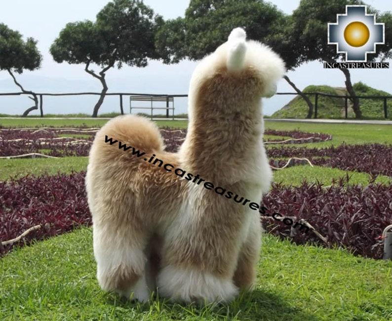 Alpaca Big Stuffed Animal Suresh The GIANT llama  cd9c5f909