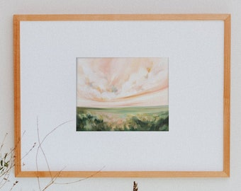 I'm Changing, Fine Art Print Reproduction of a Landscape Painting by Emily Jeffords