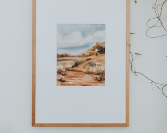 Let It Fill You, Fine Art Print Reproduction of a Landscape Painting by Emily Jeffords