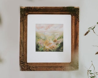 Find The Familiar No. 2, Fine Art Print Reproduction of a Landscape Painting by Emily Jeffords