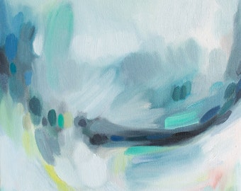 Cadence No. 4, Fine Art Print Reproduction of an Abstract Painting by Emily Jeffords