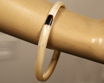 Beautiful Art Deco mother of pearl 1930s MOP shell vintage antique upper arm bangle