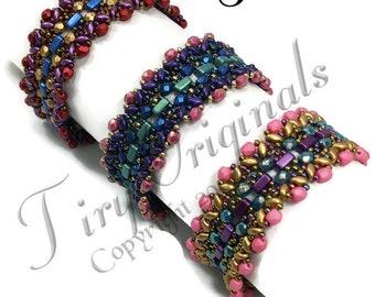 KR038 TUTORIAL - Confectionary Delight Bracelet - Beadweaving Pattern Instructions