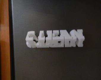 3D printed Magnetic Clean/Dirty indicator