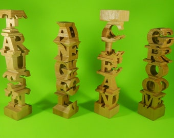 5-Character Word Tower