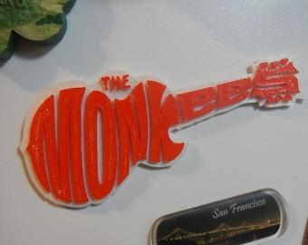 Monkees Guitar Logo magnet