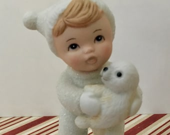 Vintage Little Boy Snow Baby by HOMCO 5501