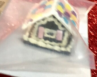 Miniature Gingerbreaad House
