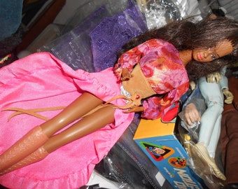 Vintage BLACK BARBIE before they changed her name
